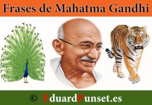 Frases de Gandhi ~ ( Colección de frases para Mahatma Gandhi )